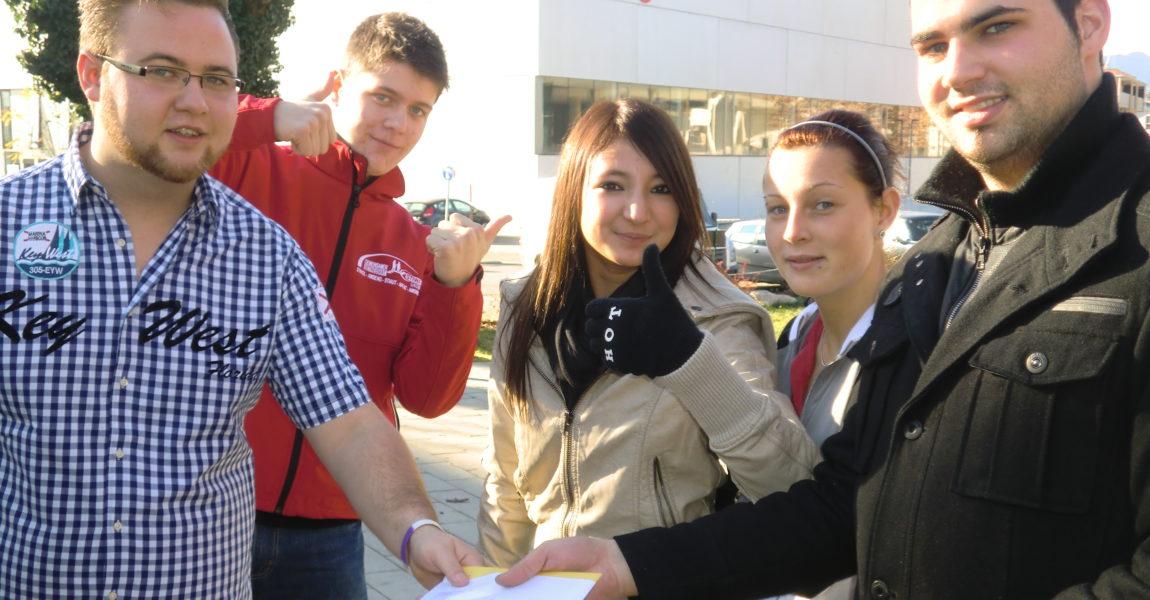 PRO-GE JugendvertrauensrätInnen Kurs in Salzburg