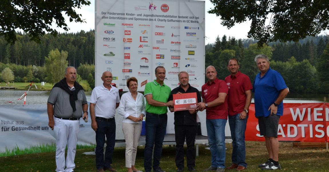 4. Golf- Charity-Turnier in Weitra