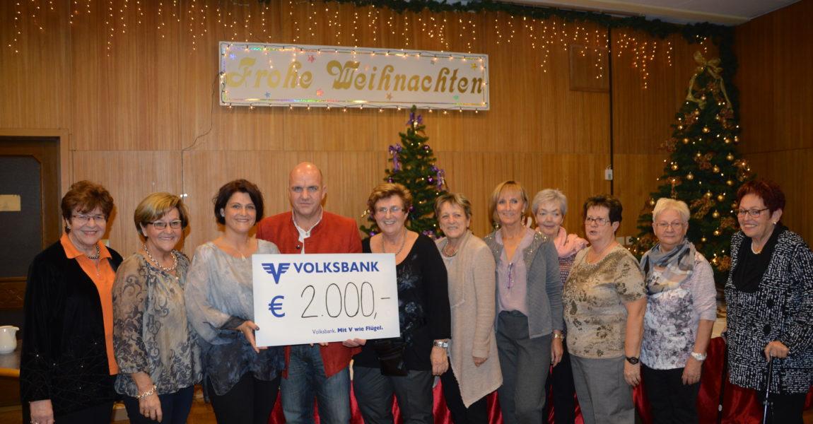 Weihnachtsbasar 2016 SPÖ-Frauen Gainfarn
