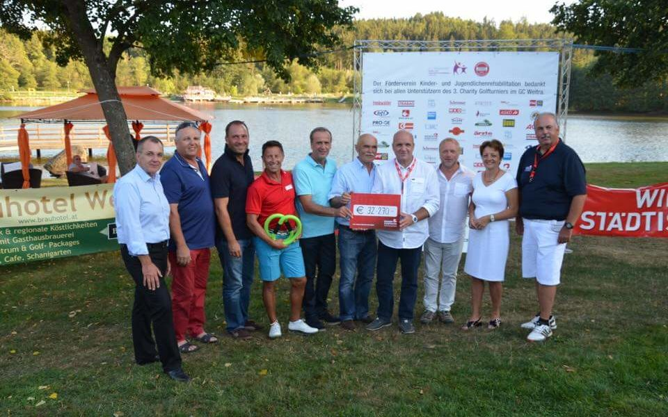 3. Golf-Charity-Turnier in Weitra