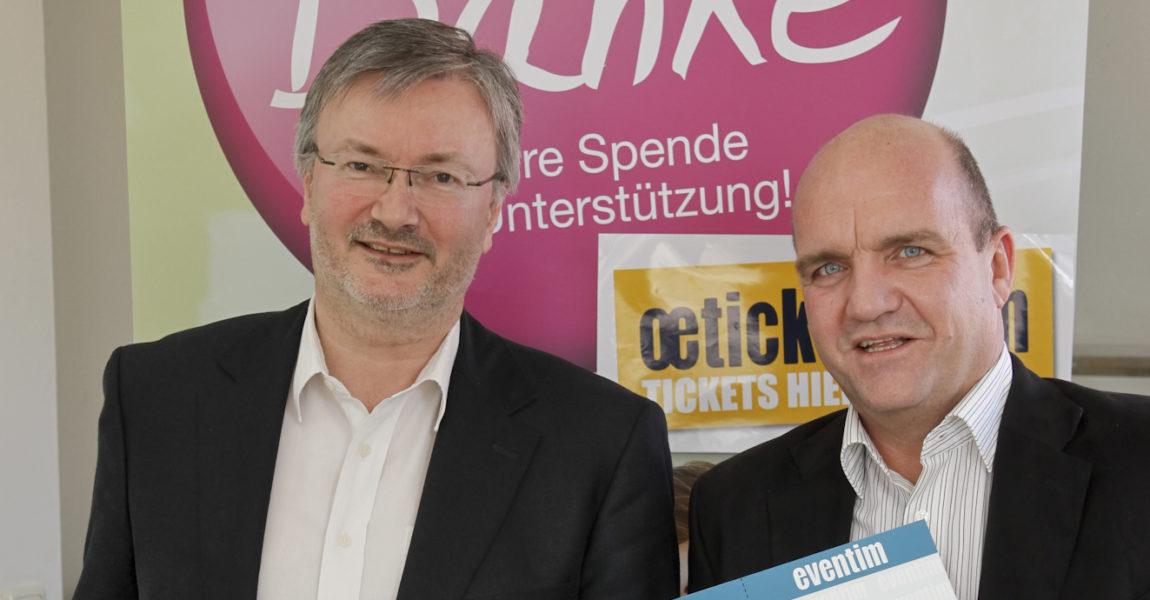 """oeticket.com überreicht über 7.000 Euro an """"Initiative-Kinderreha"""""""