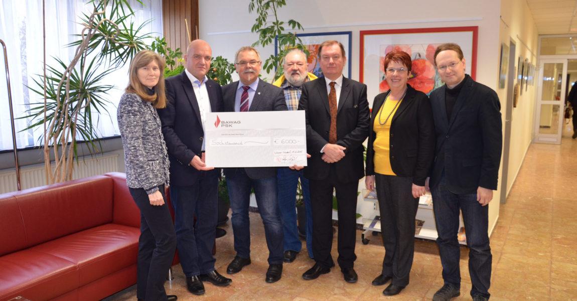 Spendensammlung der Marktgemeinde Wiener Neudorf