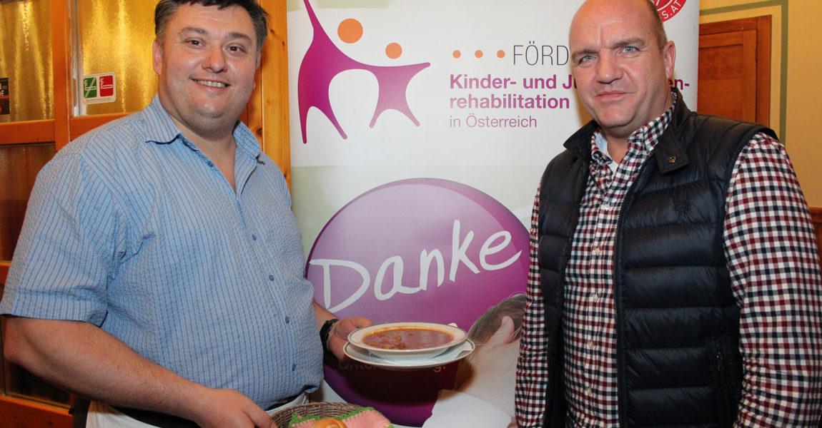 5. Charity Neujahrsempfang im Weinbaubetrieb Familie Freudorfer in Gumpoldskirchen