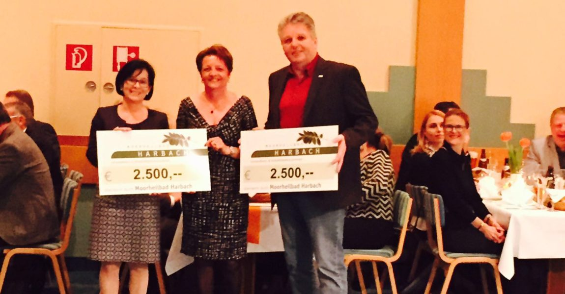 """""""Charity-Heringsschmaus"""" im Gesundheitszentrum Moorheilbad Harbach"""