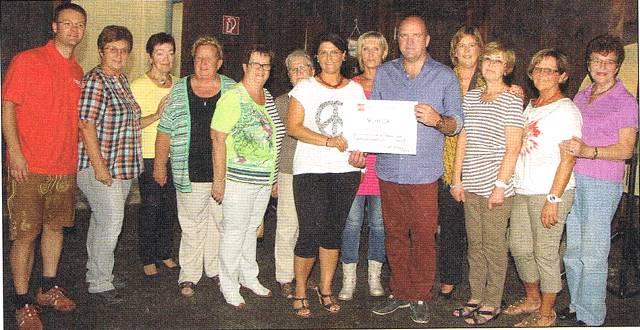 Spendensammlung der SPÖ-Frauen Gainfarn