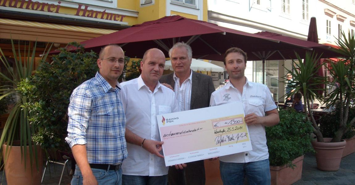Die Belegschaft des Therapiezentrums Buchenberg unterstützt unsere Initiative