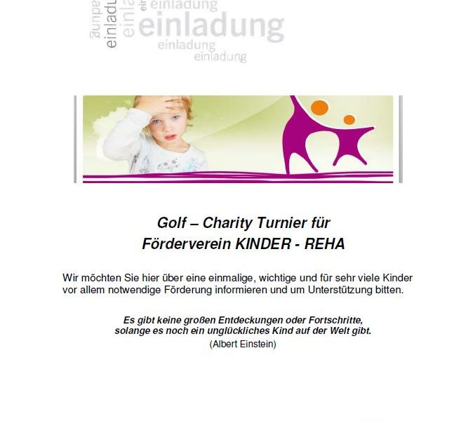 5. Golf- Charity-Turnier in Weitra