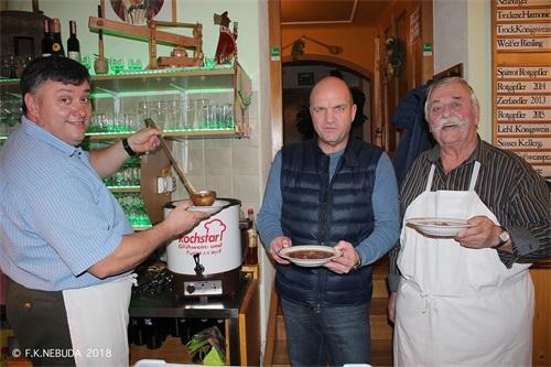 7. Charity Neujahrsempfang im Weinbaubetrieb Familie Freudorfer in Gumpoldskirchen