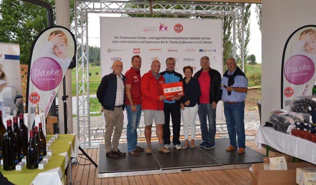 Abschlag für einen guten Zweck: 6. Golf-Charity-Turnier in Weitra