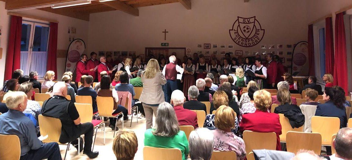 """""""G'sungen und g'spielt"""" – Benefizchorkonzert in Jedenspeigen"""
