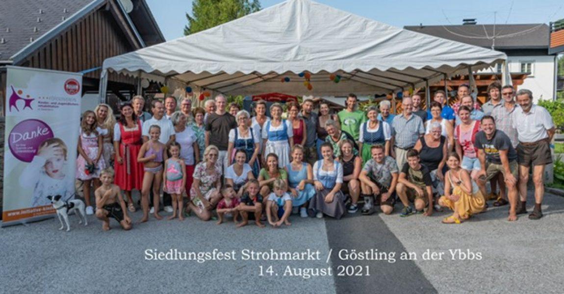 Siedlungsfest Strohmarkt / Göstling an der Ybbs