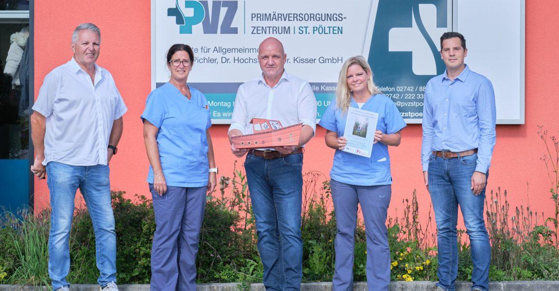 Spendenaktion des Primärversorungszentrum St. Pölten